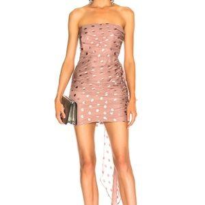 Michelle mason polka dot dress